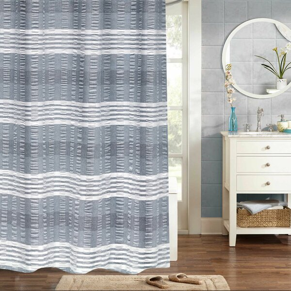 Braintree Woven Jacquard 100% Cotton Shower Curtain by Eider & Ivory